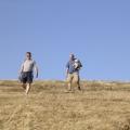 Waldemar und Walter beim Abstieg
