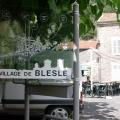 Stadtbesichtigung in Blesle