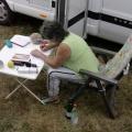 Anita trägt Tagebuch nach...