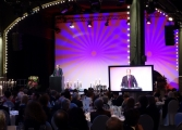 Dr. Reinhard Bork, Uni Hamburg, hält am Abend die Laudatio