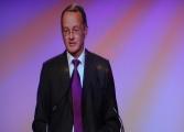 Professor Dr. Reinhard Bork, Uni Hamburg, hält am Abend die Laudatio