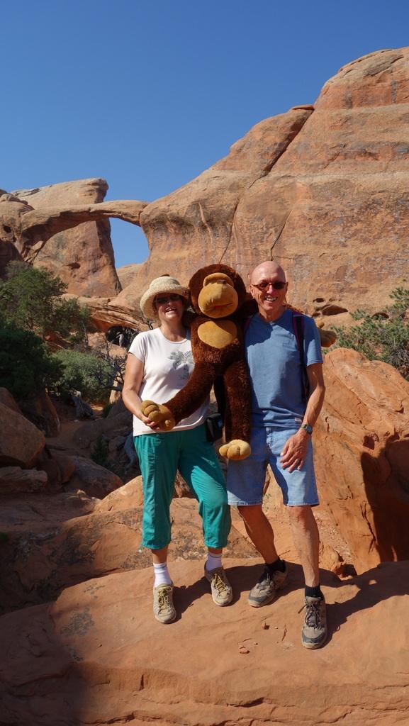 Uschi, Affe und ich...