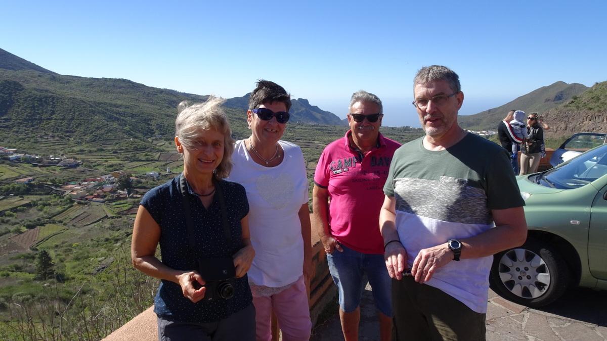 Anett, Uschi, Werner und Alex