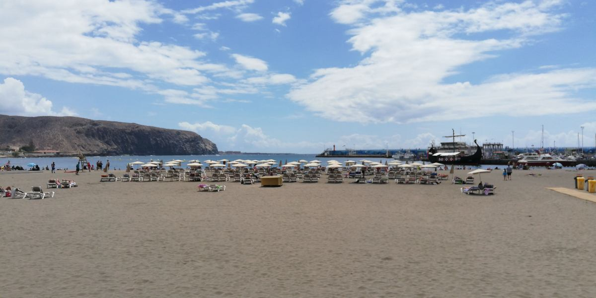 Strand von Los Cristianos