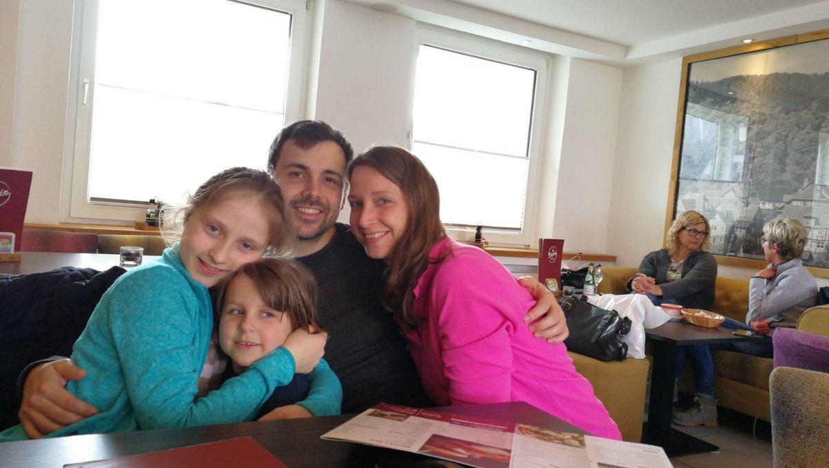 Die Enkelkinder Melina und Marlene